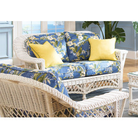 Harbor Beach Natural Wicker  Loveseat