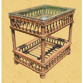 Harbor Beach Wicker End Table
