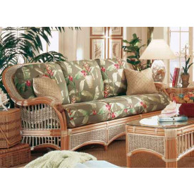 Mariner Rattan Sofa with Cushions
