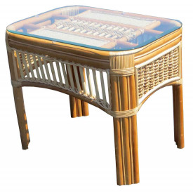 Mariner Natural Rattan Wicker End Table