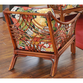 South Pacific Chair with Cushions