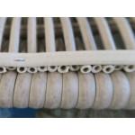Basket Weave Resin Wicker Swivel Glider Chair -