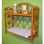 Heart Sides Wicker Wall Rack - TEAWASH