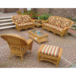 6-Piece Palm Springs Collection with Cushions - GOLDEN HONEY
