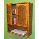 Wicker Wall Cabinet - TEAWASH