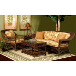(6) Piece Harbor Beach Seating Group - COFFEE
