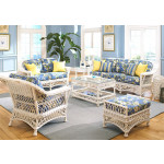 (6) Piece Harbor Beach Seating Group - WHITE