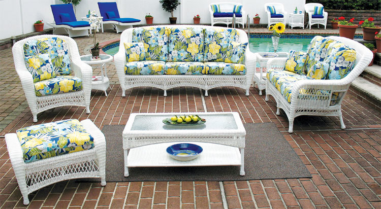 furniture patio design home wicker beauty white ideas modern resin