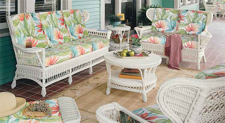 how to clean white wicker indoor furniture